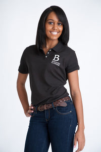Alumnae Polo - Black