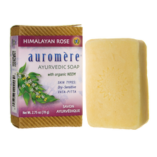 Load image into Gallery viewer, Auromere Himalayan Rose Soap