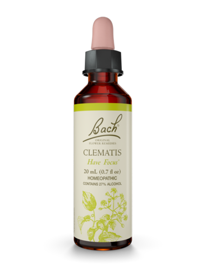 Bach Clematis Remedy (0.7 fl oz)