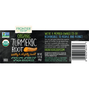 Frontier Organic Ground Turmeric Root