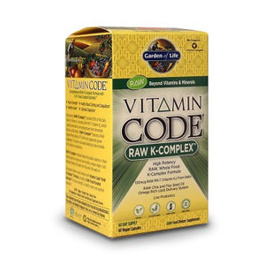 Garden of Life Vitamin Code - Raw K Complex