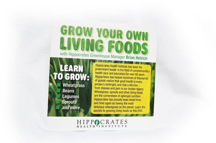 Grow your own Living Foods DVD with Brian Hetrich