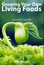Load image into Gallery viewer, Growing Your Own Living Foods Book