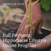 Load image into Gallery viewer, Hippocrates Lifestyle Online Program