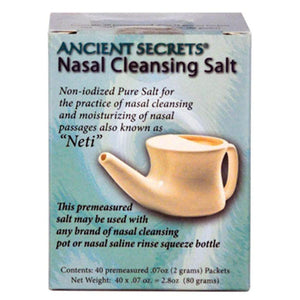 Nasal Cleansing Salt