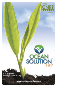 Ocean Solution All Natural Plant Nutrient (1 Quart)