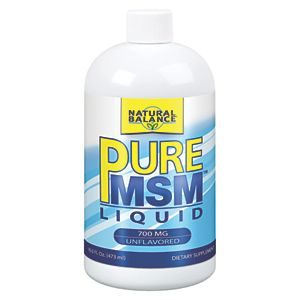 Natural Balance Pure MSM Liquid (16 fl oz)