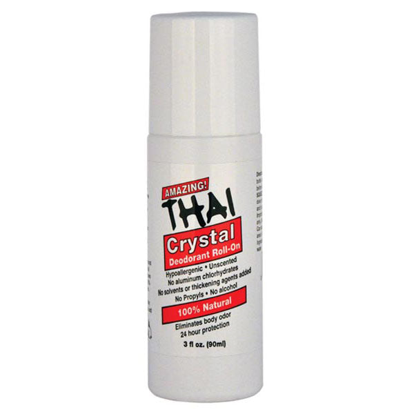 Thai Crystal Deodorant Roll-On (3oz/90mL)