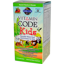 Load image into Gallery viewer, Garden of Life Vitamin Code Kids Multi-Vitamin