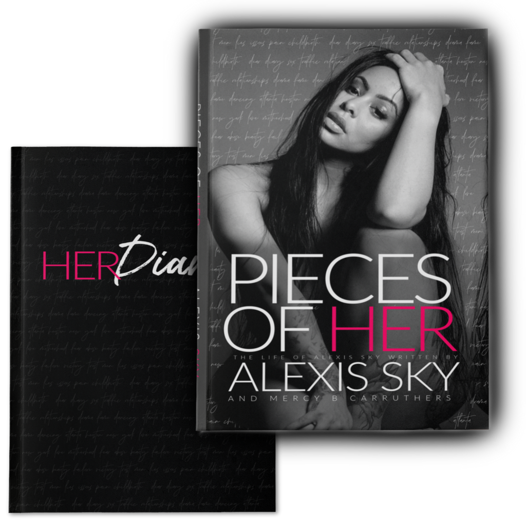 Her Set: Book and Diary Set by Alexis Sky