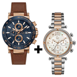 Pack Montres Mariage Gc Y37002G7 +Gc Y37002G7
