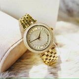 MONTRE Mini Darci Gold Crystal Pave Dial MK3445