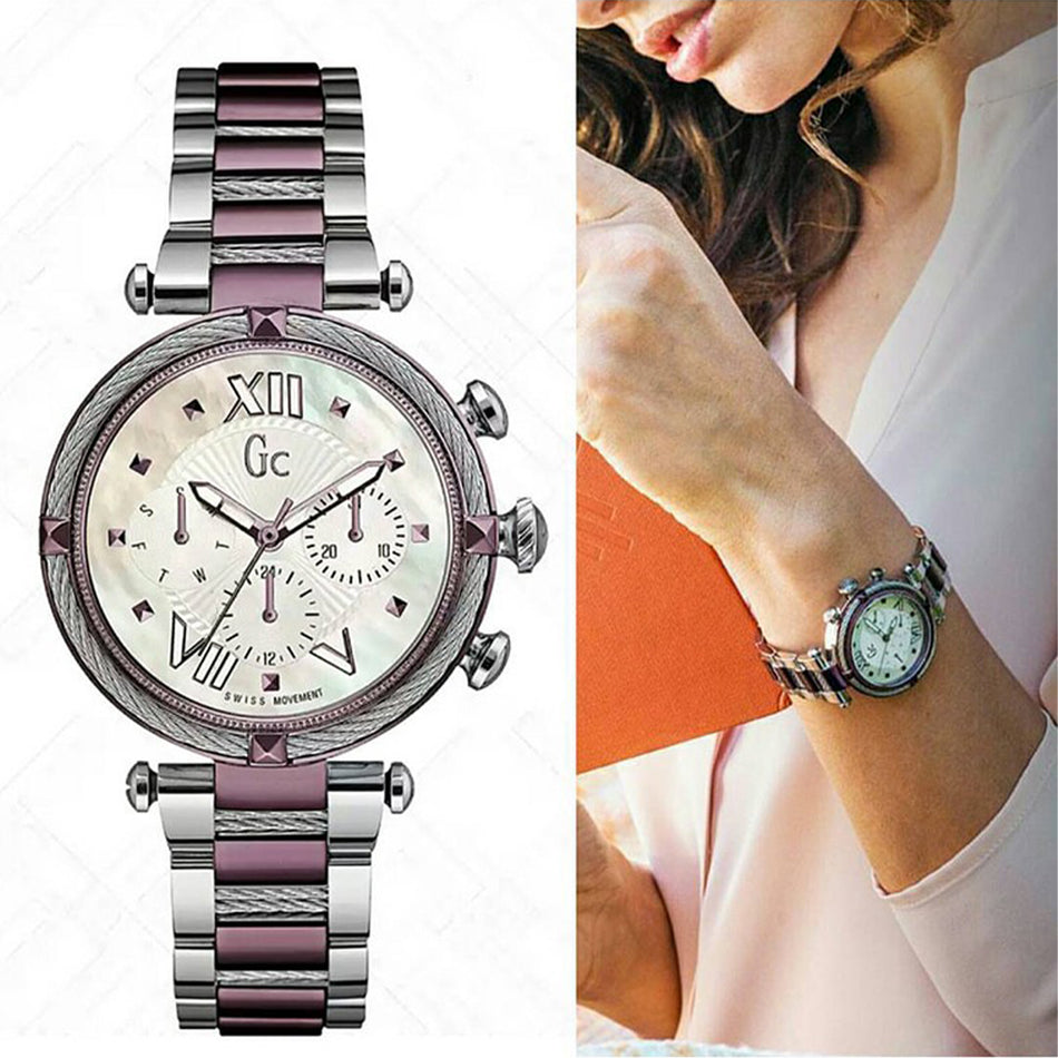 MONTRE Guess Collection Gc Cablechic Y16003L3