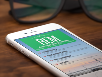 Subscription to REM - Renewable Energy Monitor