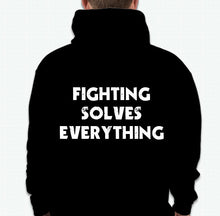 Load image into Gallery viewer, 2 Tone Boxing Club- Fighting Solve Everything Hoodie