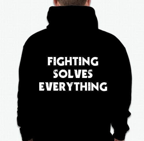 2 Tone Boxing Club- Fighting Solve Everything Hoodie