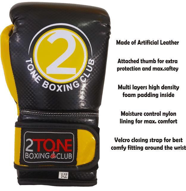 8 oz. Synthetic Leather Gloves
