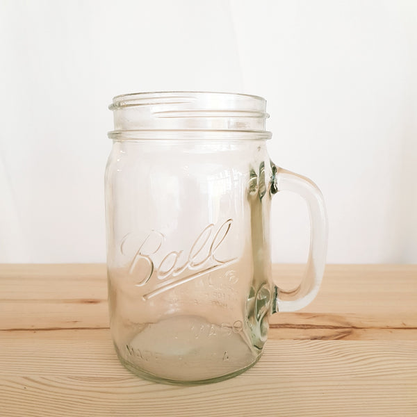 Mason jar Ball drinking jug 24 oz wide mouth zonder deksel