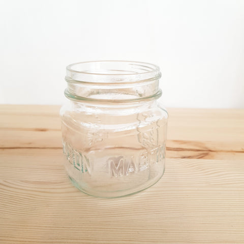 Mason jar Ball square 8 oz zonder deksel