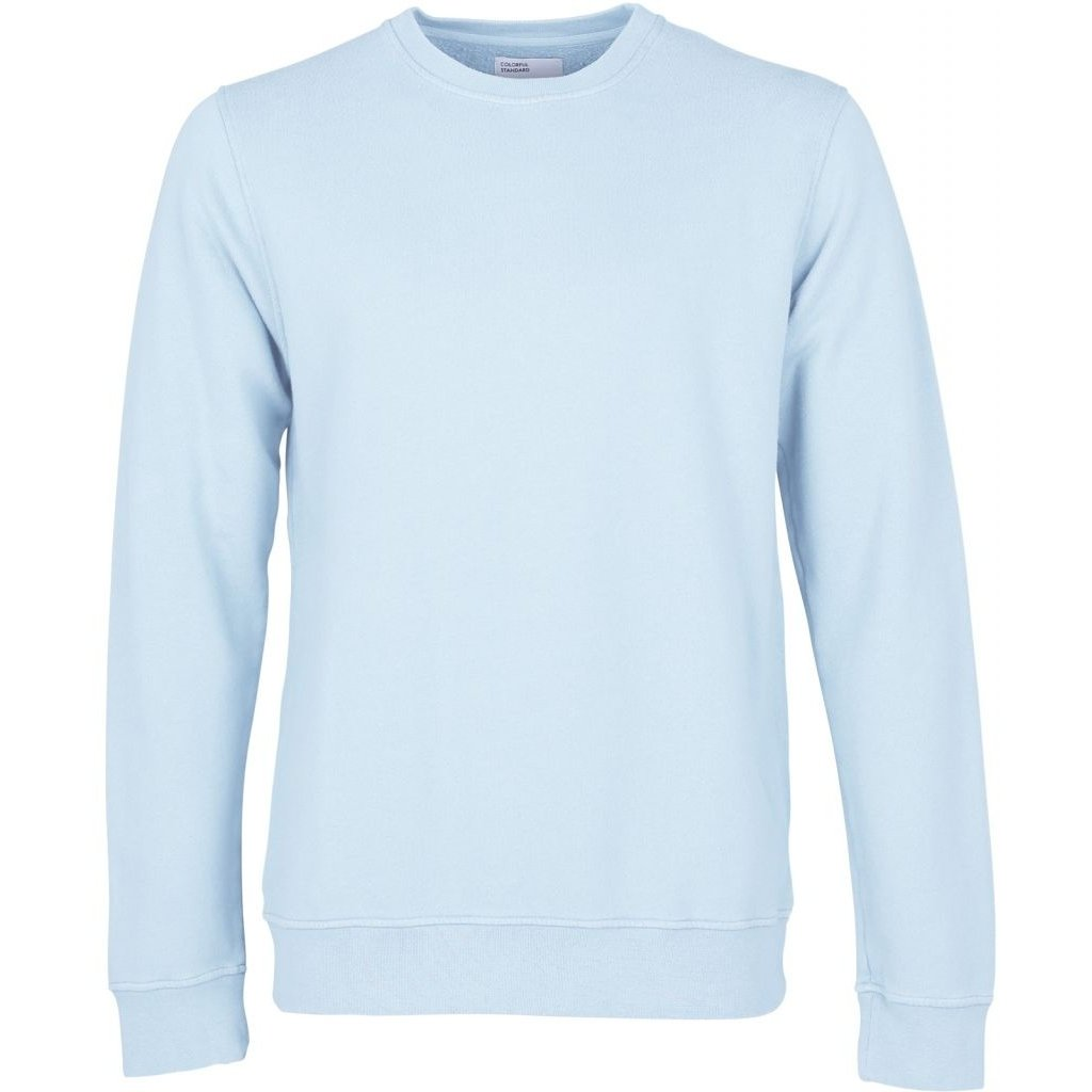 Crew sweater unisex van biologisch katoen (polar blue) Colorful Standard