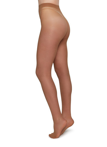 Swedish Stockings zero waste panty 20den lichtbruin Elin