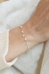 Armband Mare zilver Riverstones