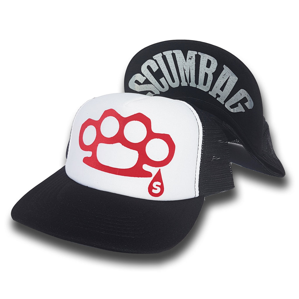 Scumbag Duster Trucker Hat - Toxico Clothing