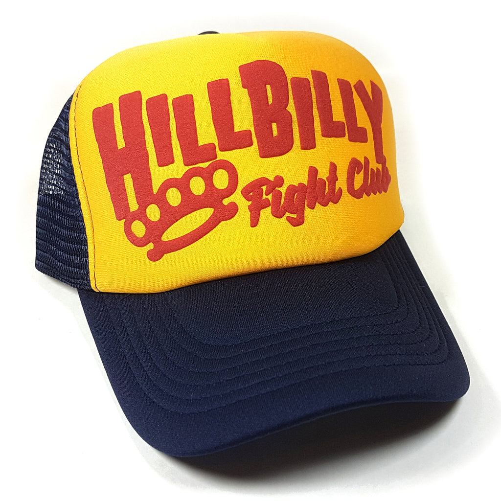 Hillbilly Text Trucker Hat - Toxico Clothing