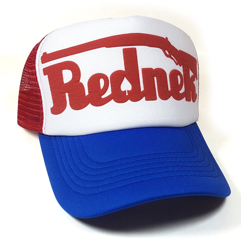 Rednek Shotgun Trucker Hat - Toxico Clothing