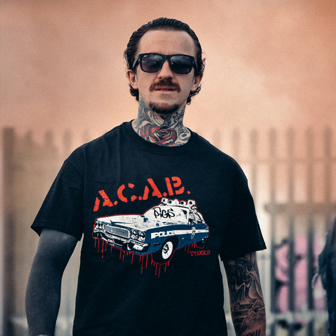 ACAB Tee - Toxico Clothing