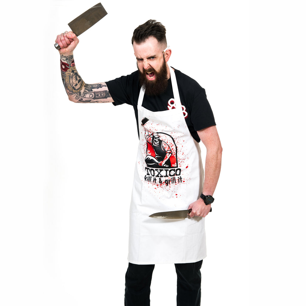 Kill & Grill Apron - Toxico Clothing