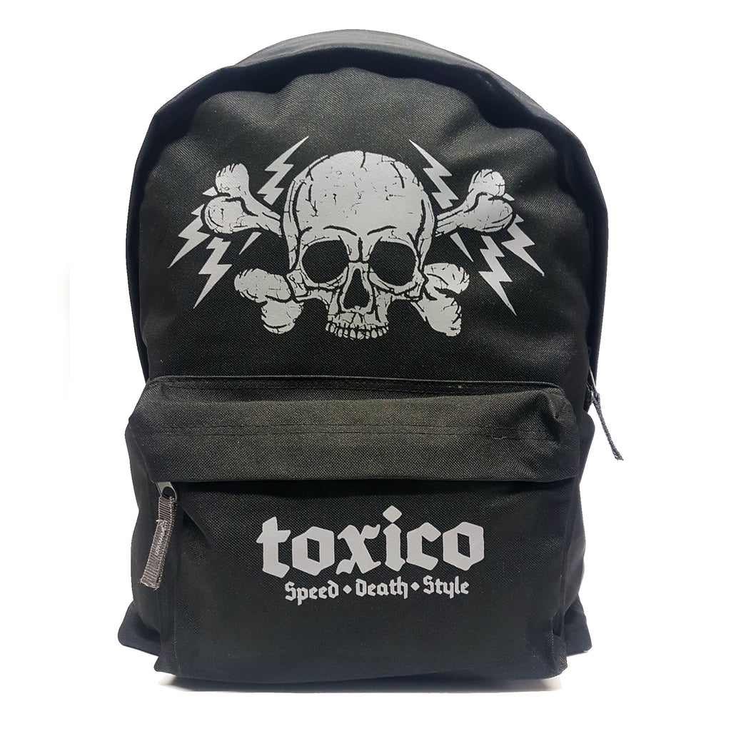 Speed Death Style Backpack - Toxico Clothing