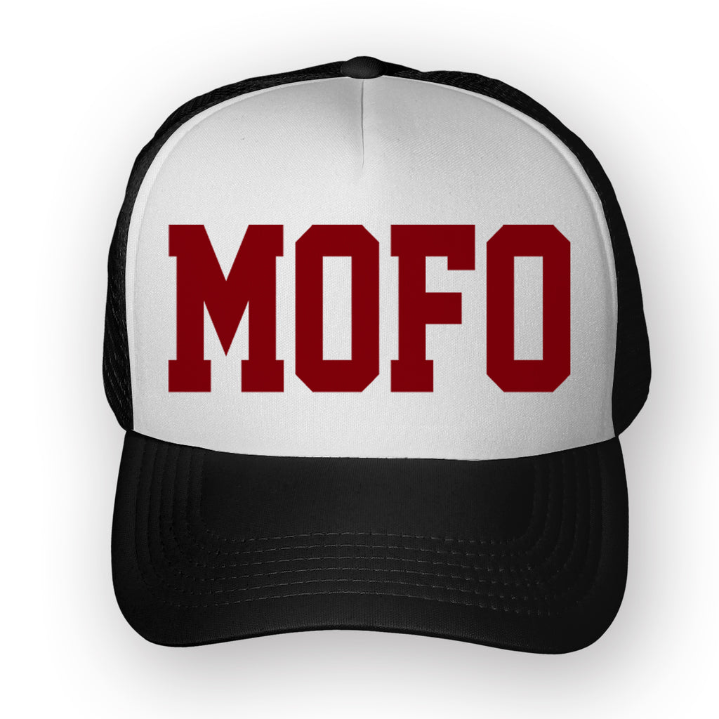 Mofo Trucker Hat - Toxico Clothing