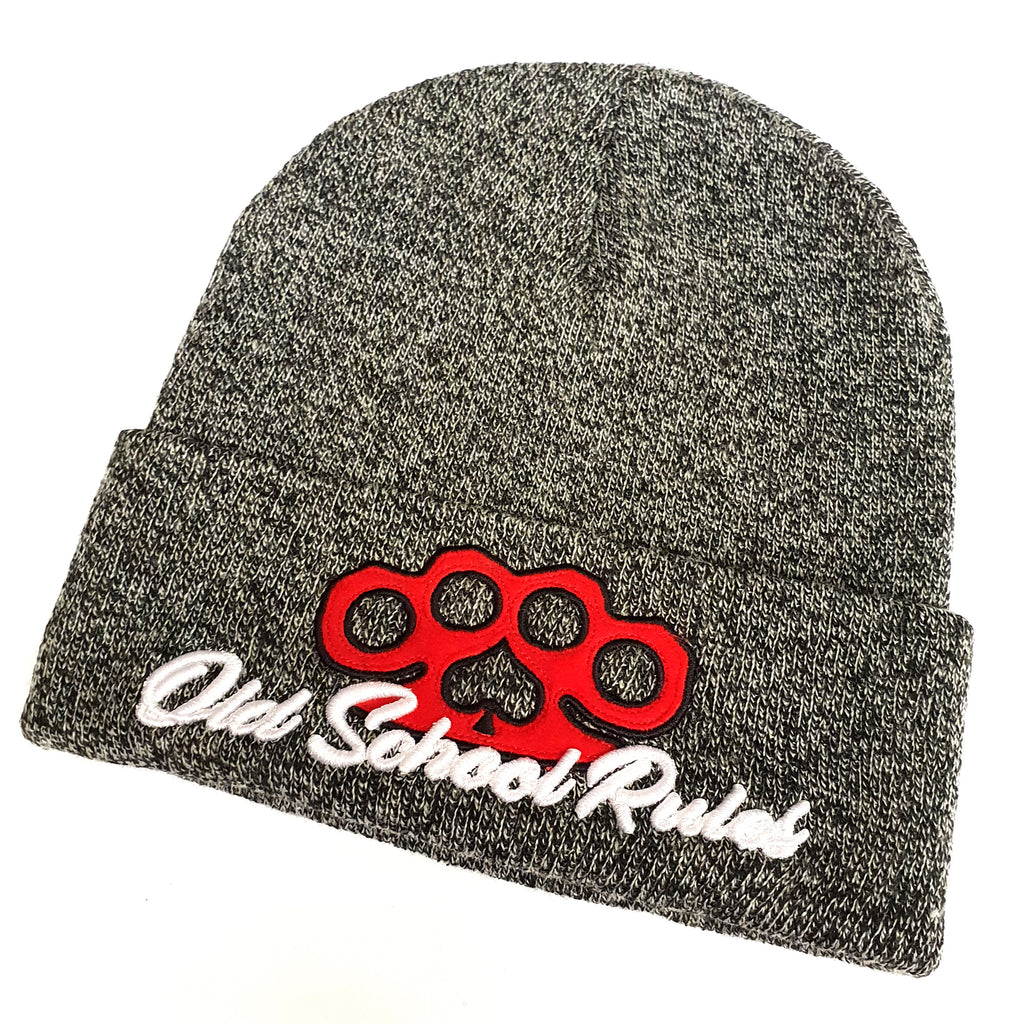 Old School Rules Beanie - Toxico Clothing