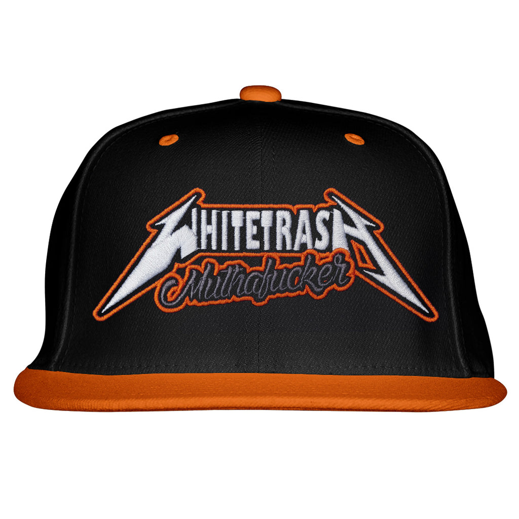 Whitetrash Metal Snapback - Toxico Clothing