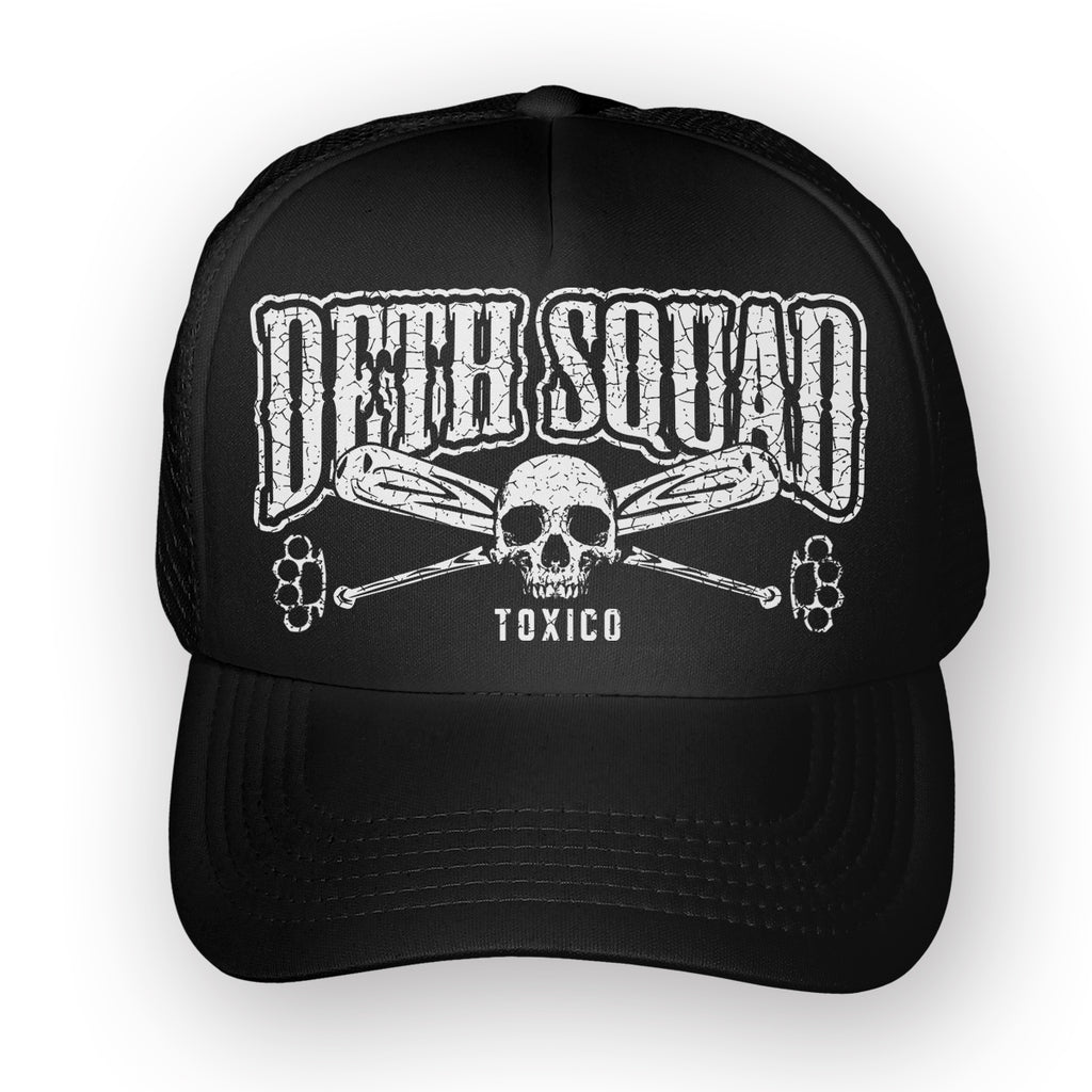 Deth Squad Trucker Hat - Toxico Clothing