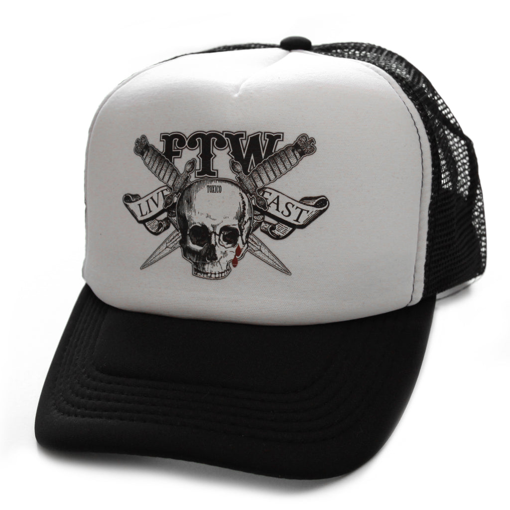 FTW Trucker Hat - Toxico Clothing