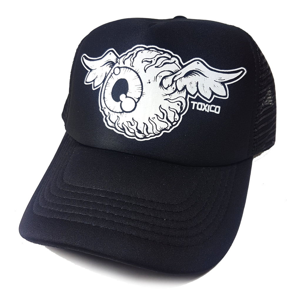 Flying Eye Trucker Hat - Toxico Clothing