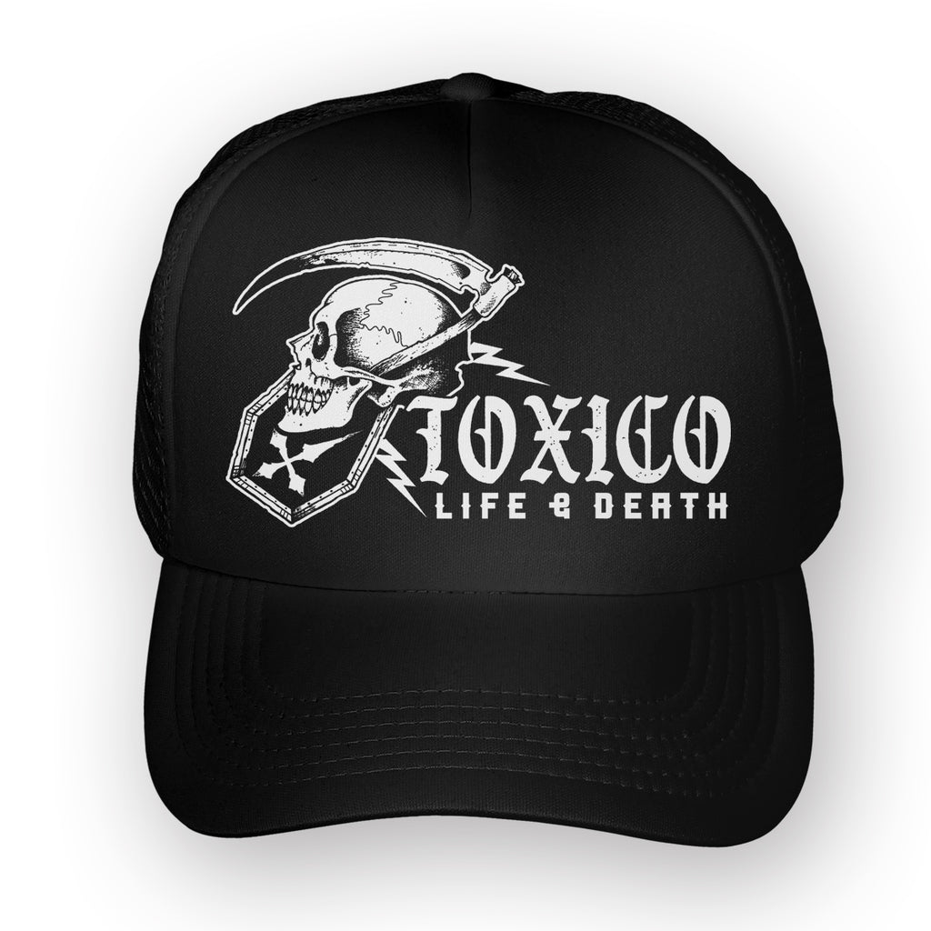 Life & Death Trucker Hat - Toxico Clothing