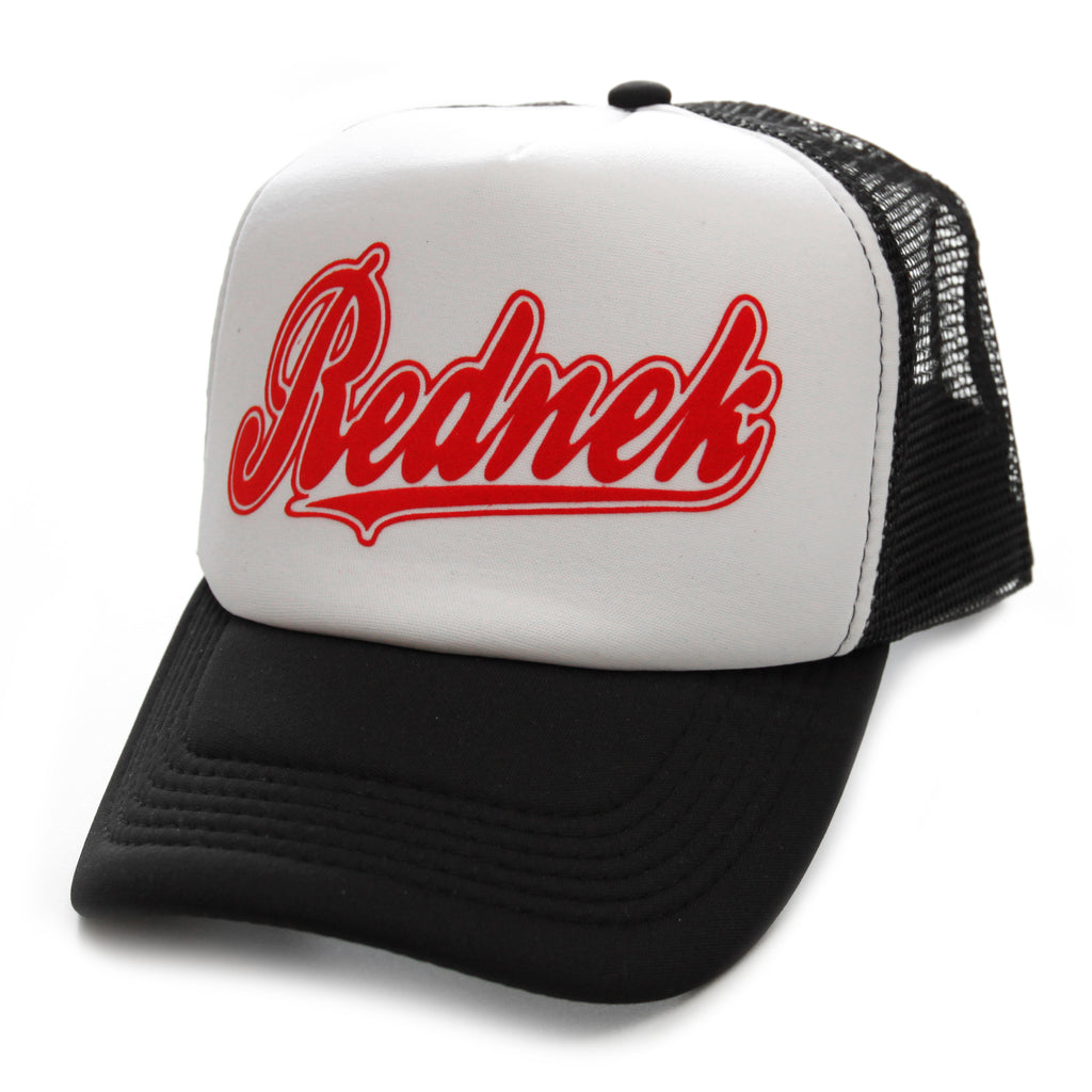 Rednek Script Trucker Hat - Toxico Clothing