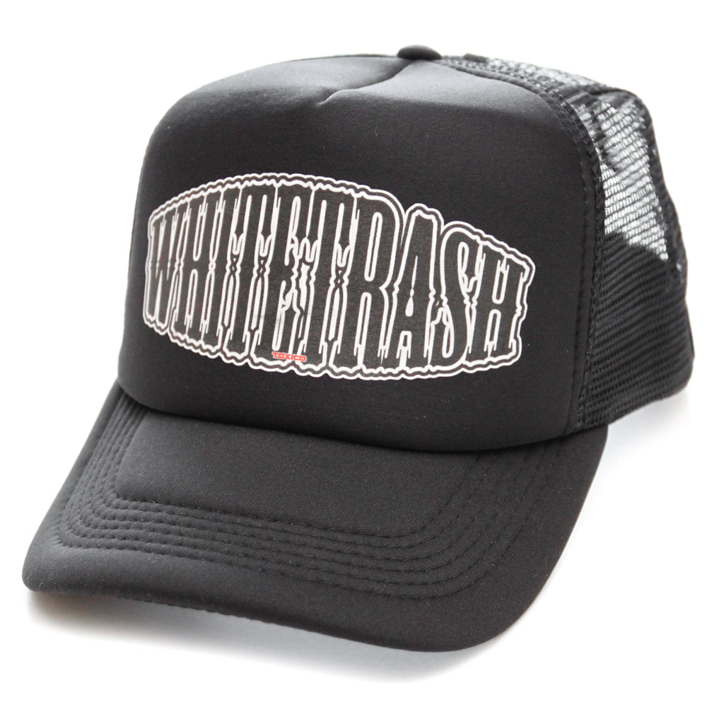 Whitetrash Trucker Hat - Toxico Clothing