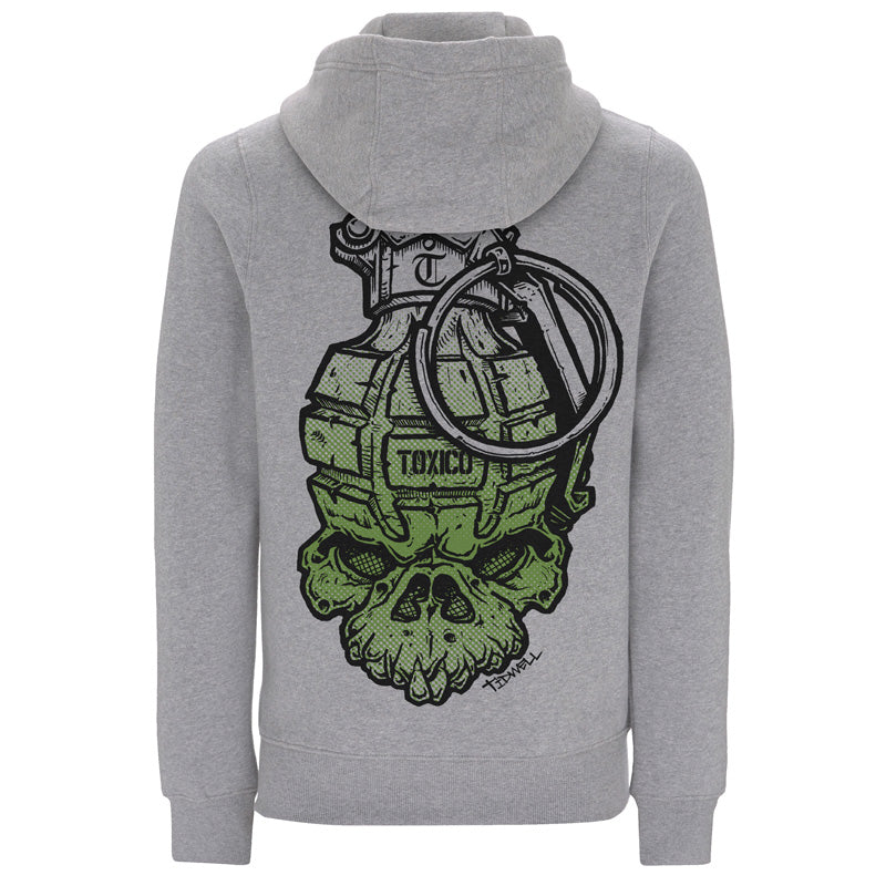 JT Grenade Ziphood - Toxico Clothing