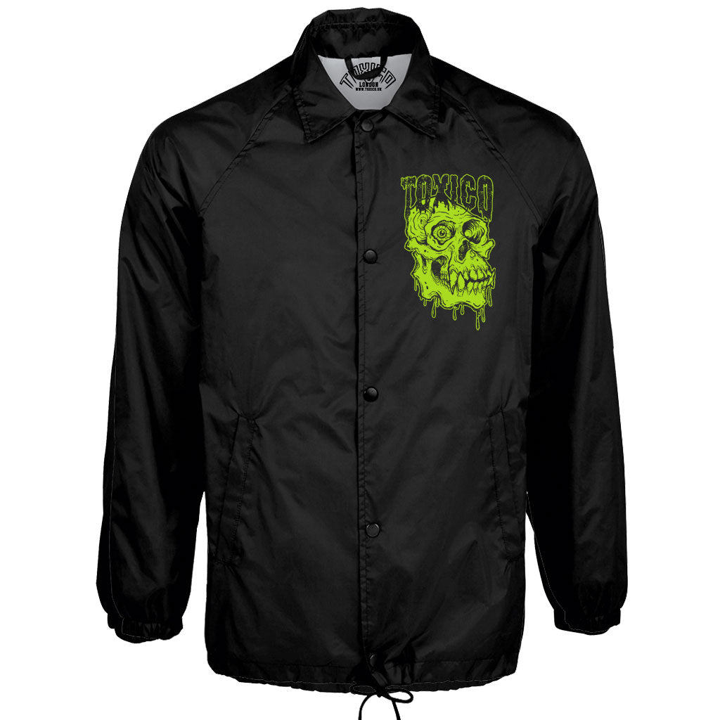 Primate Skull Coach Jacket - Toxico Clothing