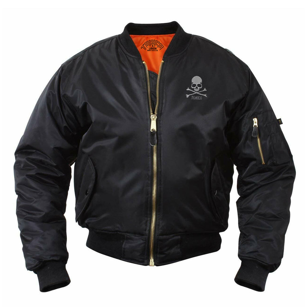 Skull & Bones Flight Jacket