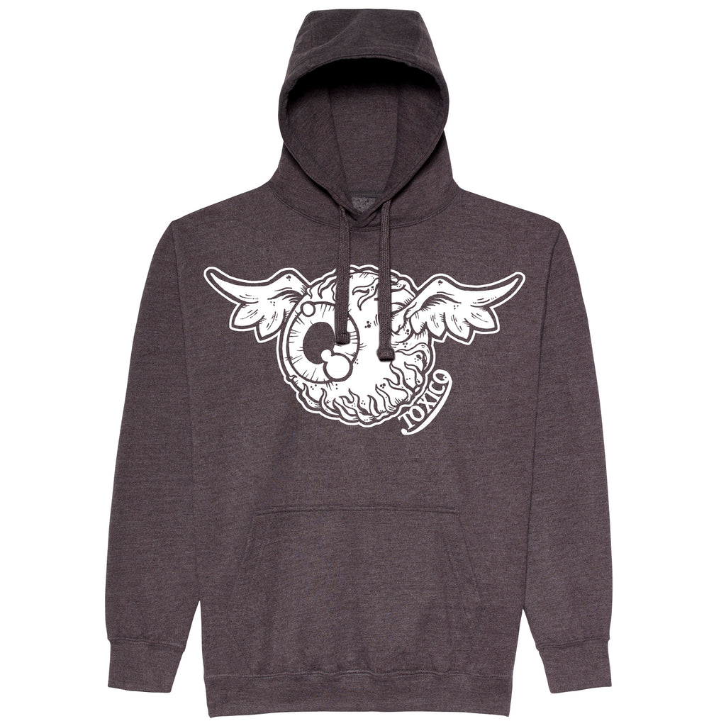 Flying Eye Pullover Hood - Toxico Clothing