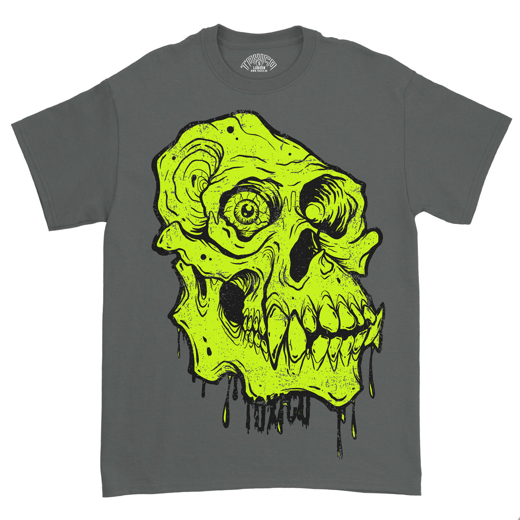 Primate Skull Tee - Toxico Clothing