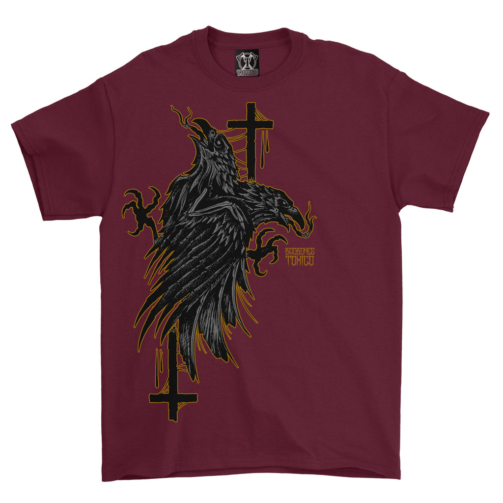 Crows Tee - Toxico Clothing