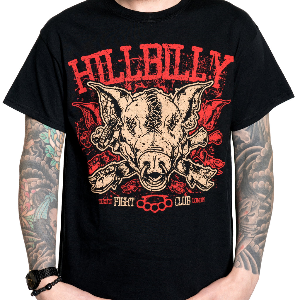 Hillbilly Pig Tee - Toxico Clothing