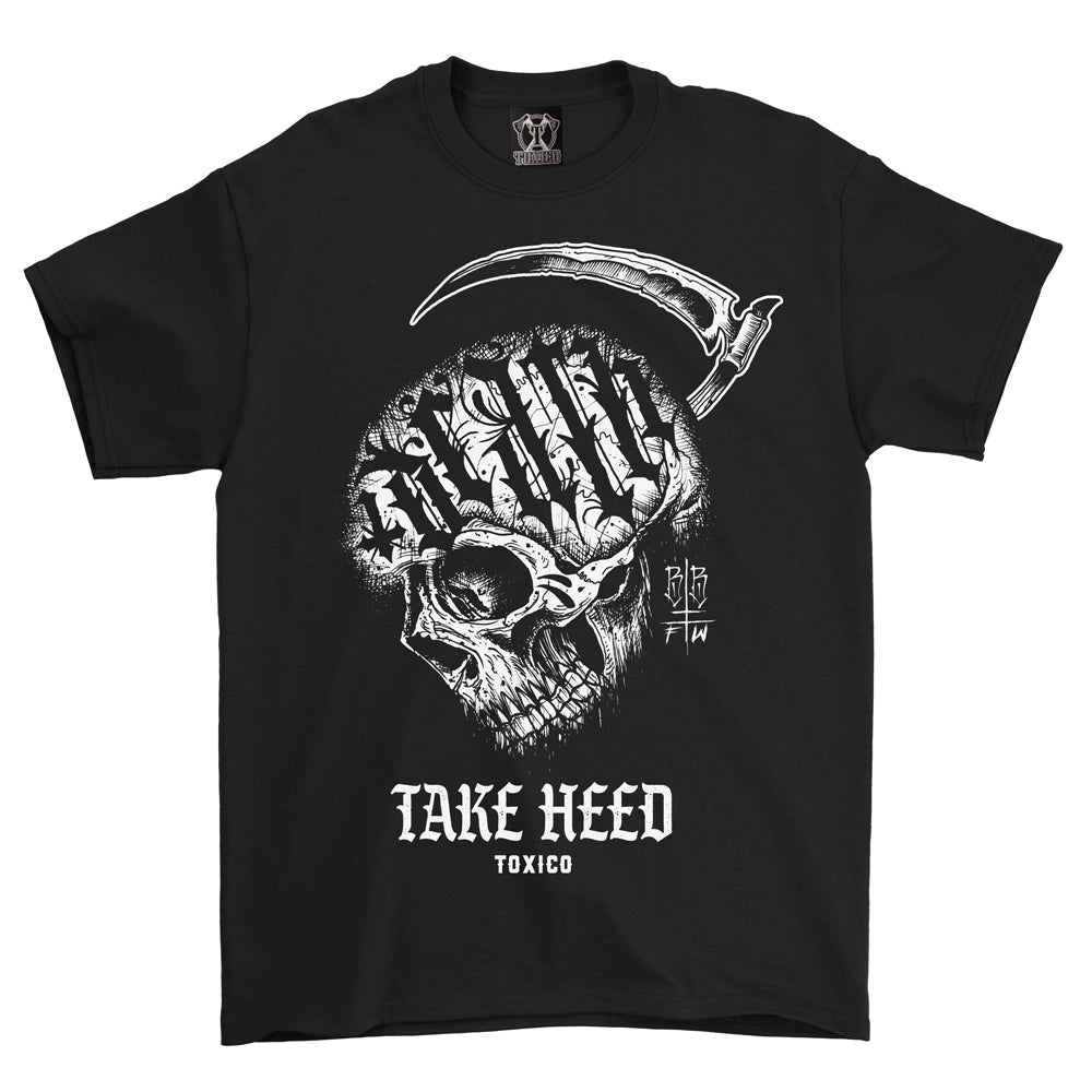Take Heed Tee - Toxico Clothing