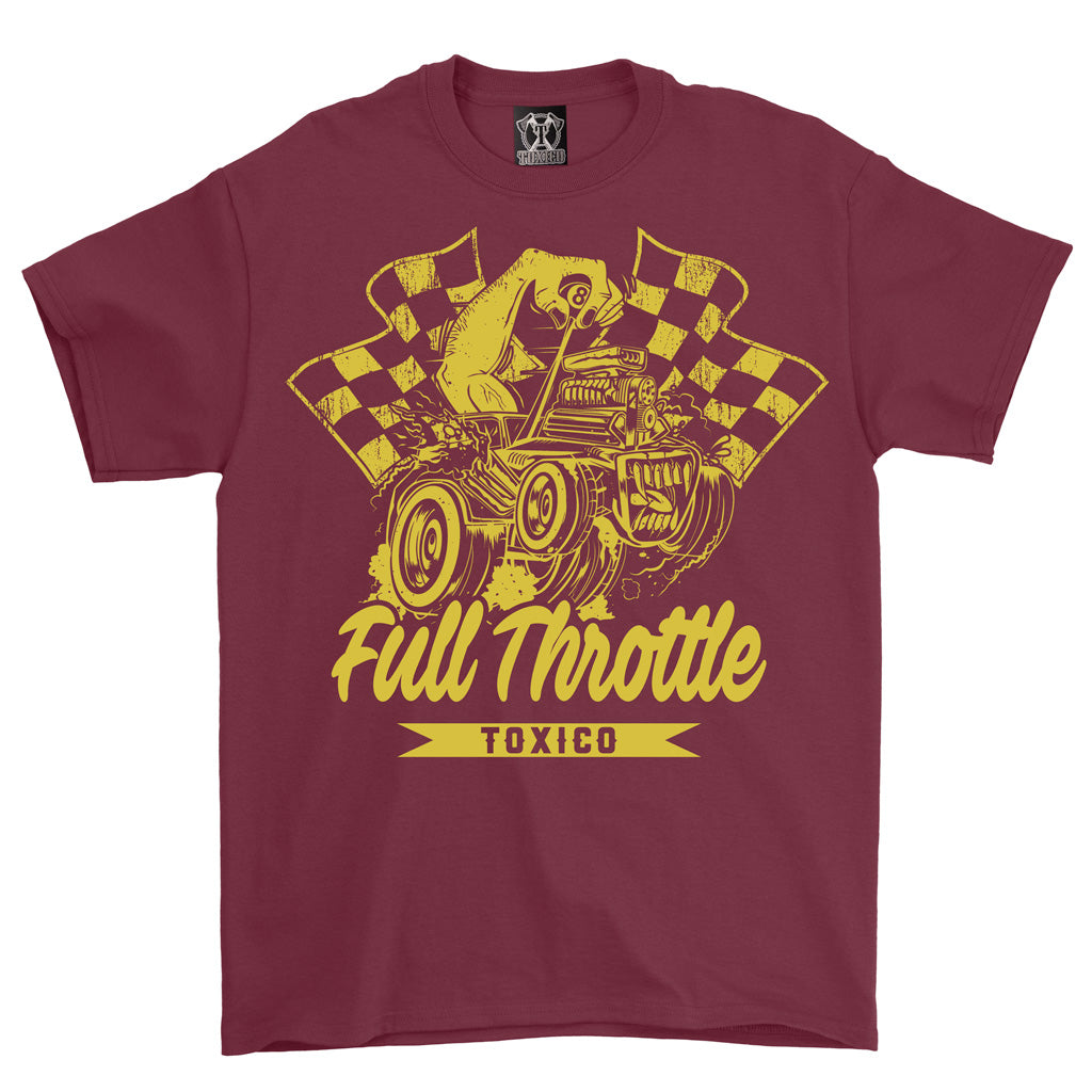 Full Throttle Tee - Toxico Clothing